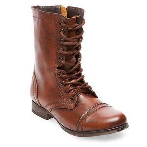 🤎Steve Madden Chestnut Lace-up Combat Boot